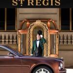 The 2013 Bentley Mulsanne outside of the St. Regis New York