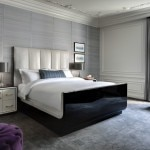 Guests are sure to feel at home in the Bentley Suite's luxurious bedroom