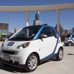 Daimler AG's car2go program gives users access to smart fortwo minicars