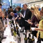 The many wine varietals at the Roussillon Wine Tasting