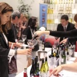 Pouring wine at the Roussillon Wine Tasting