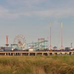 The pier at the boardwalk in Atlantic City