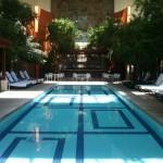 The indoor pool at Borgata Hotel Casino & Spa