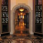 Hallway at Addison restaurant