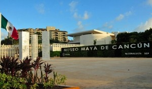 Maya Museum in Cancun (courtesy of Cancun Convention and Visitors Bureau)