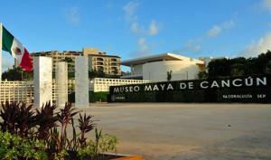 Maya Museum in Cancun (courtesy of Cancun Convention and Visitors Bureau)