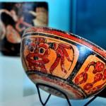 Mayan bowl at the Maya Museum