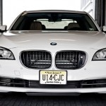 The BMW 750i is available for chauffeur service at all Fairmont Hotels in the United States and Canada