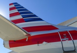 Flag design on tailfin