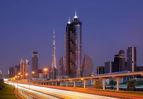 The JW Marriott Marquis Hotel Dubai