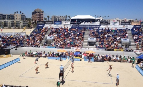The World Series Cup Women's Finals in Long Beach, CA