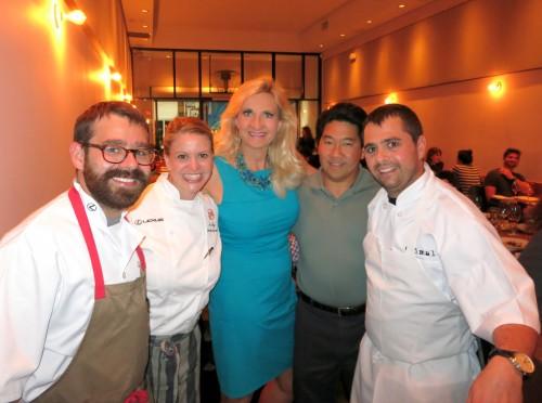 Chef Jon Shook and chef Vinny Dotolo