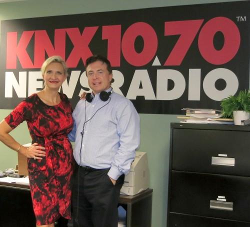 Frank Mottek of KNX1070 News Radio