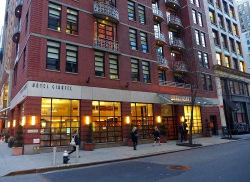 The exterior of Hotel Giraffe in New York City