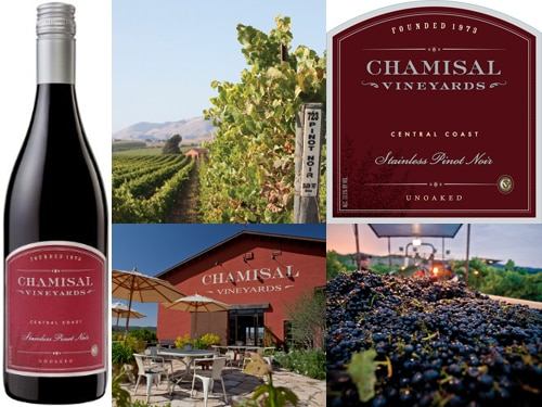 Chamisal Vineyards 2013 Stainless Pinot Noir
