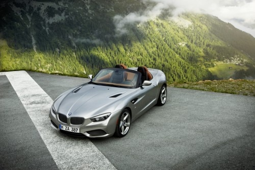 z4 zagato BMW press photo
