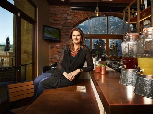Elizabeth Blau, a restaurateur and culinary queen. Photo credit: Bill Milne