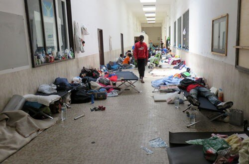 The abandoned migrants of Ventimiglia.