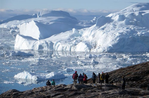 The UNESCO World Heritage Site of the Ilulissat Icefjord is the fastest and most productive glacier in the Arctic