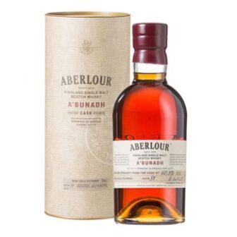 Aberlour A'Bunadh Cask Strength Single Malt Scotch Whisky