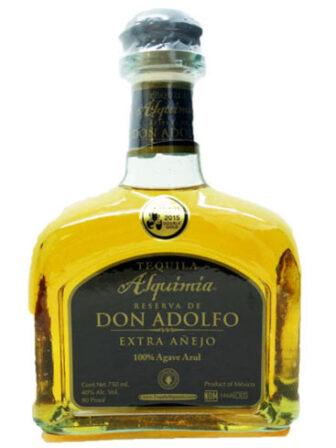 Alquimia Reserva de Don Adolfo Extra Añejo