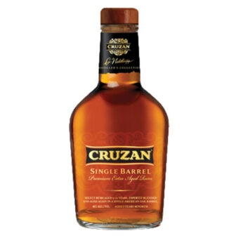 Cruzan Single Barrel Rum is created from a variety of vintage rums aged for up to 12 years