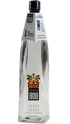Drink the flavors of the Hawaiian Islands with Island 808 Pineapple