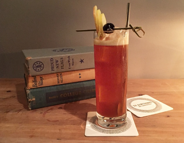 The Nicholas Collins will warm you up on a cold day with its spice-infused flavors