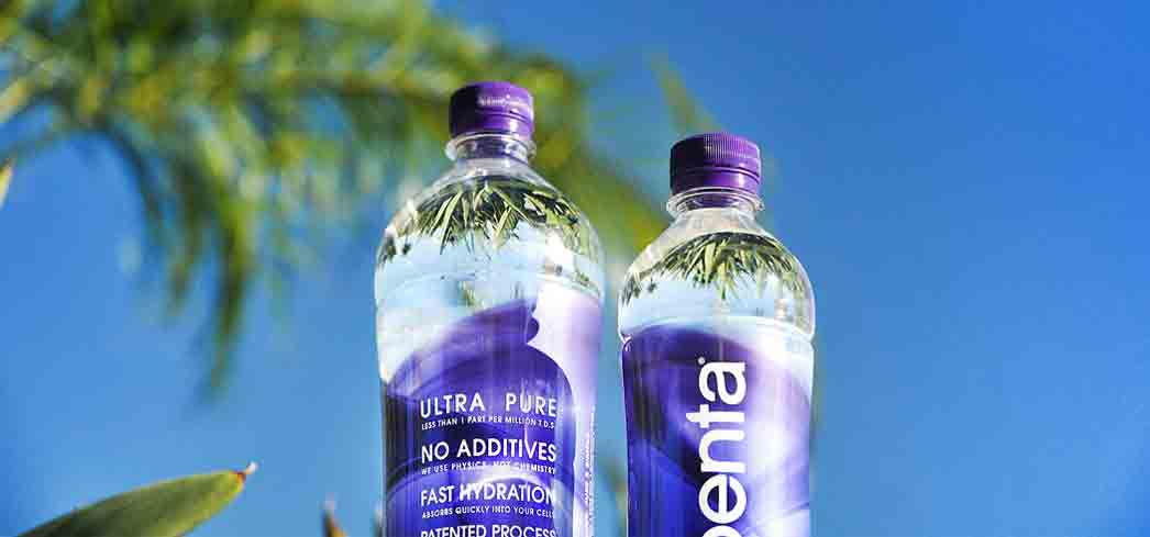 Penta starts as city water before undergoing a patented 13-step purification process.