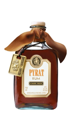 Pyrat Cask 1623 offers delightful citrus notes on the nose and palate
