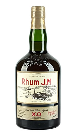 Rhum J.M XO offers subtle grassy and citrus flavors