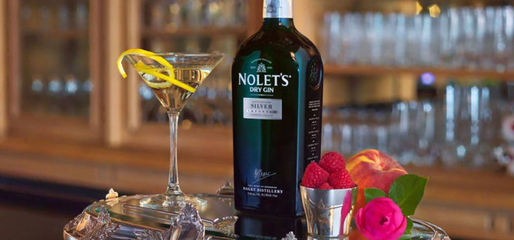 Silver Bulleit Cocktail