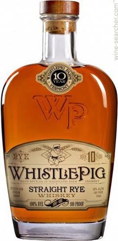 WhistlePig 10-Year Straight Rye Whiskey