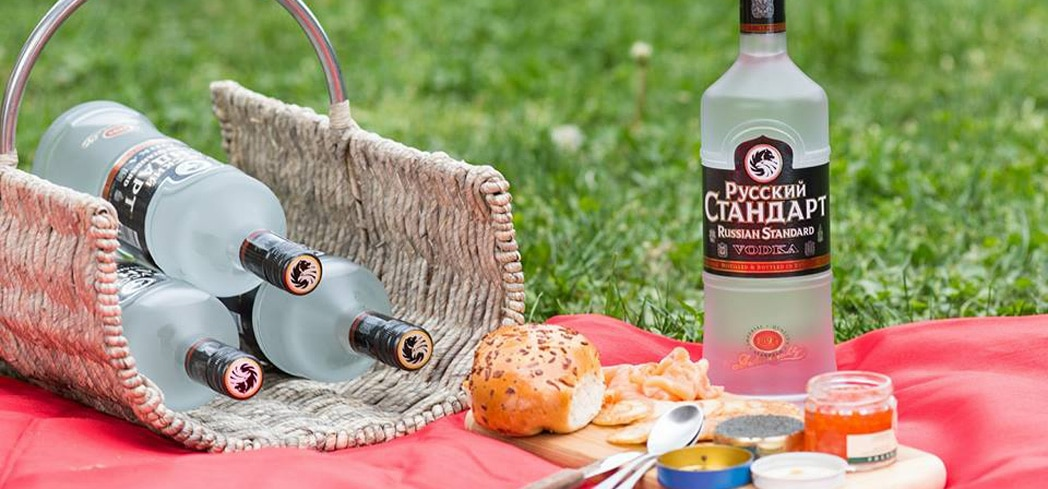 Russian Standard is the best-selling vodka in Russia