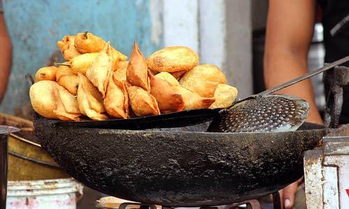 Indian food: Samosas
