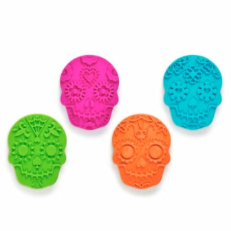 Sugar skulls cookie cutters
