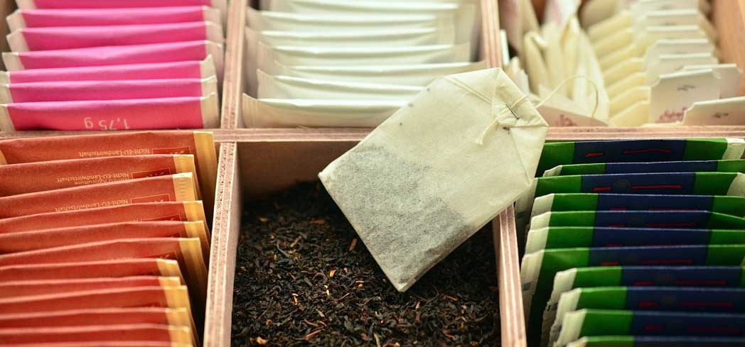Tea must be stored correctly to maintain freshness