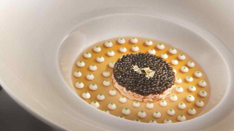 Le Caviar MGM Grand Joel Robuchon Restaurant-