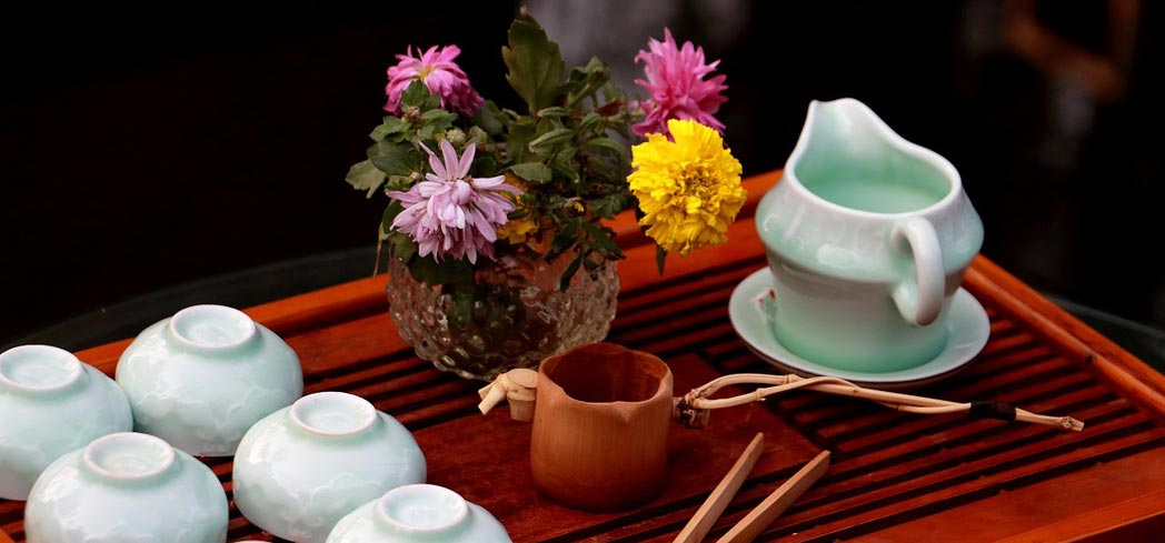 """As in wine tasting, the act of """"cupping"""" tea requires a careful, considered approach"""
