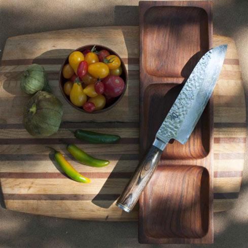 Shun Cutlery Classic 7-inch Santoku Knife
