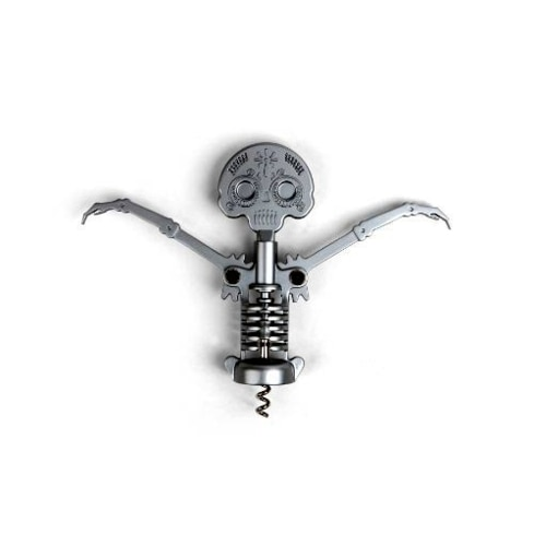 Steel Skull Corkscrew