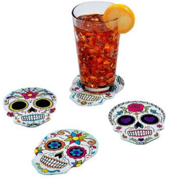 Sugar Skull Coasters