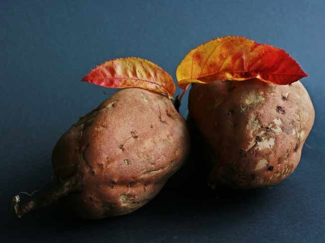 Sweet potatoes are rich in Vitamin A