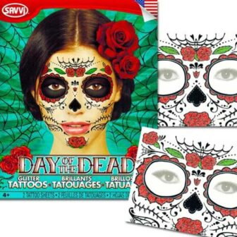 Temporary Calavera Tattoos