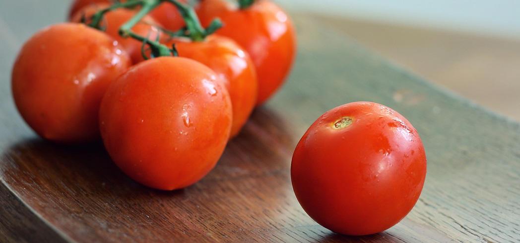 Tomatoes are full of vitamin C, vitamin A, calcium and potassium