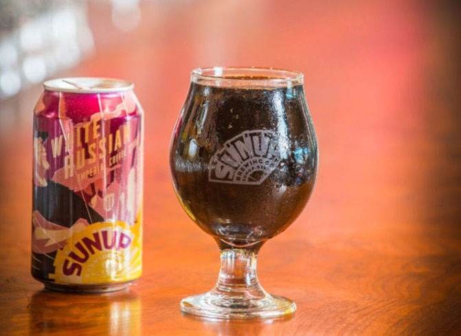 White Russian Imperial Coffee Stout
