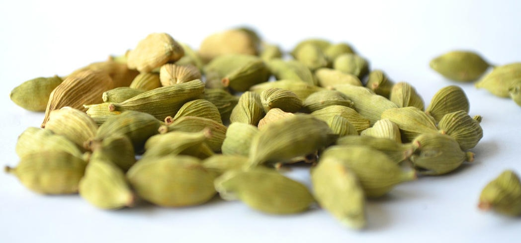 Cardamom stimulates the digestive system
