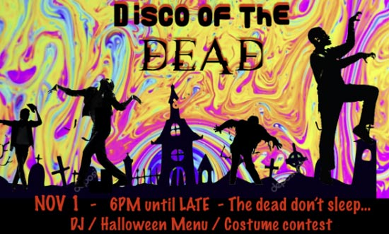 Héritage Fine Wines hosts a Disco of the Dead