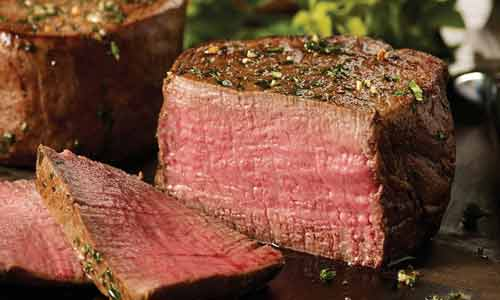 Filet mignon is a pricey beef cut favorite