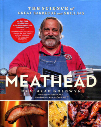 Meathead cookbook